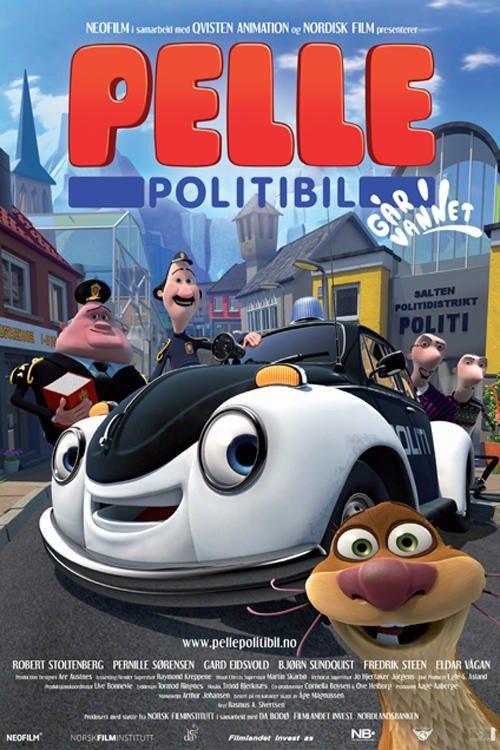 Pelle a kis rendőrautó akcióban